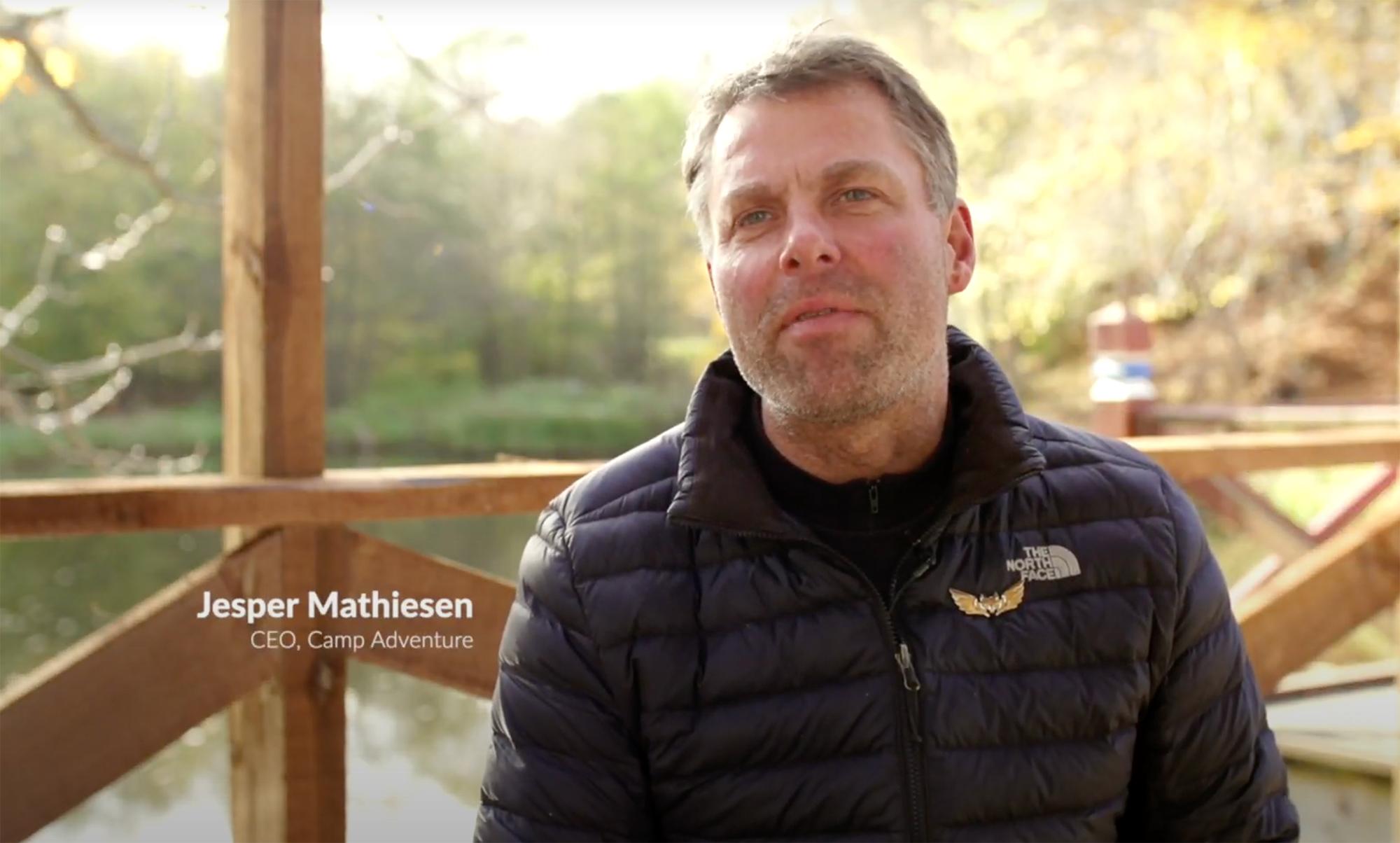 Jesper Mathiesen - CEO, Camp Adventure