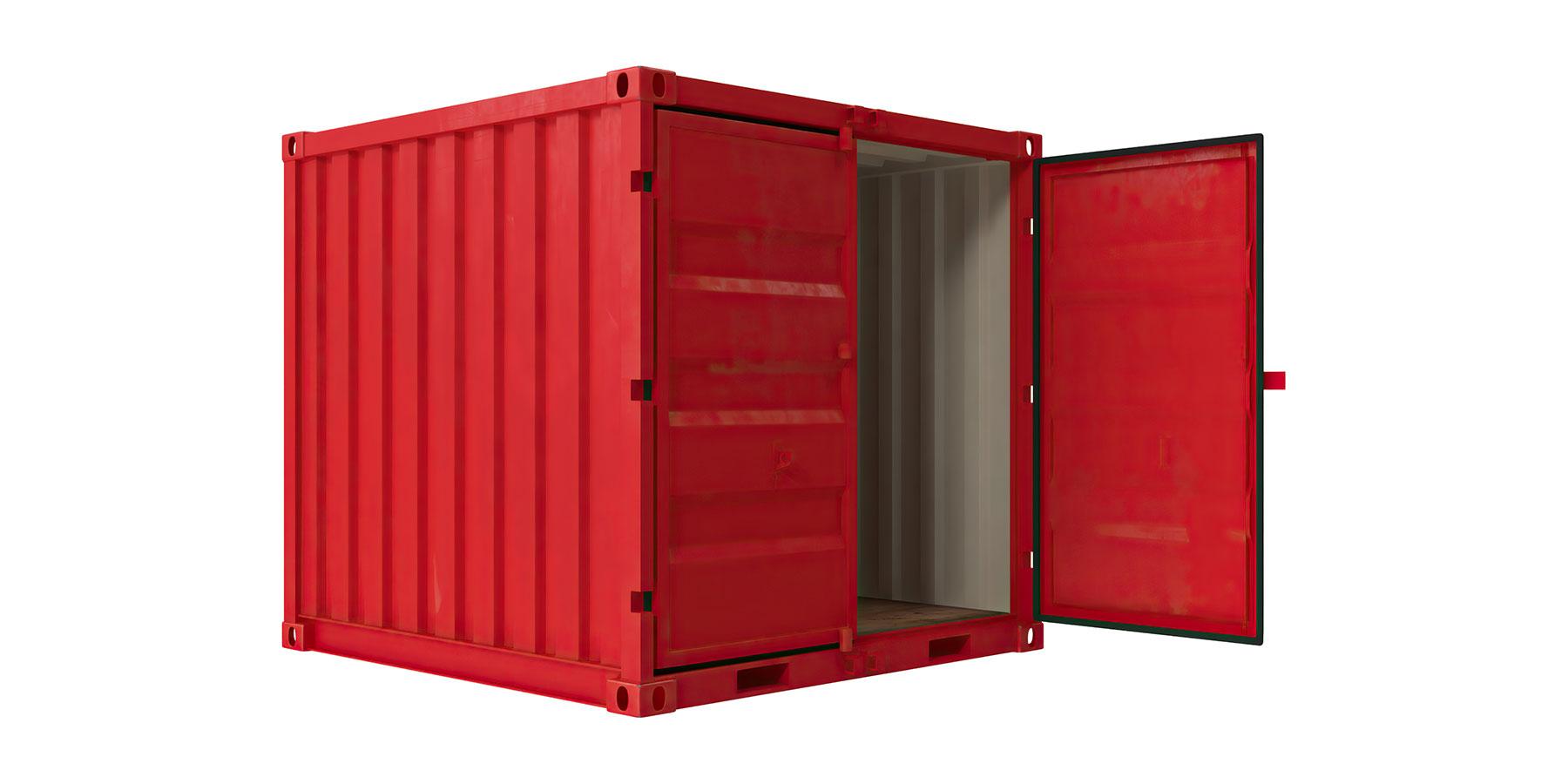 Køb lej container 8 fods lck